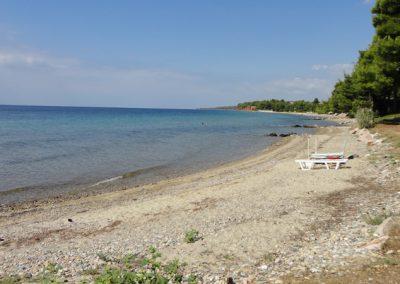 Beach near Villa Ioanna