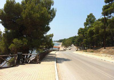walking besides the sea in Metamorfosi