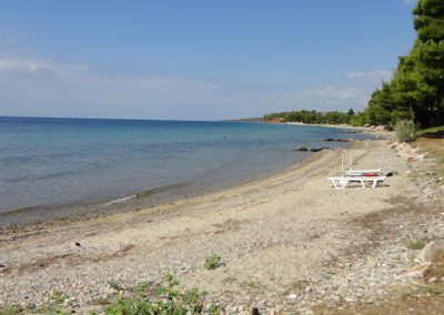Beach near Villa Ioanna