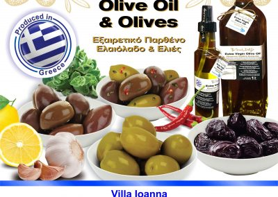 8.1. Extra Virgin Olive Oil & Olives-Kallimanis family